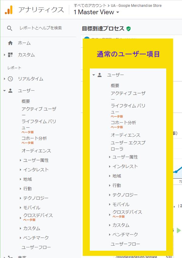 図12.デモアカウントにはユーザーエクスプローラの項目がない